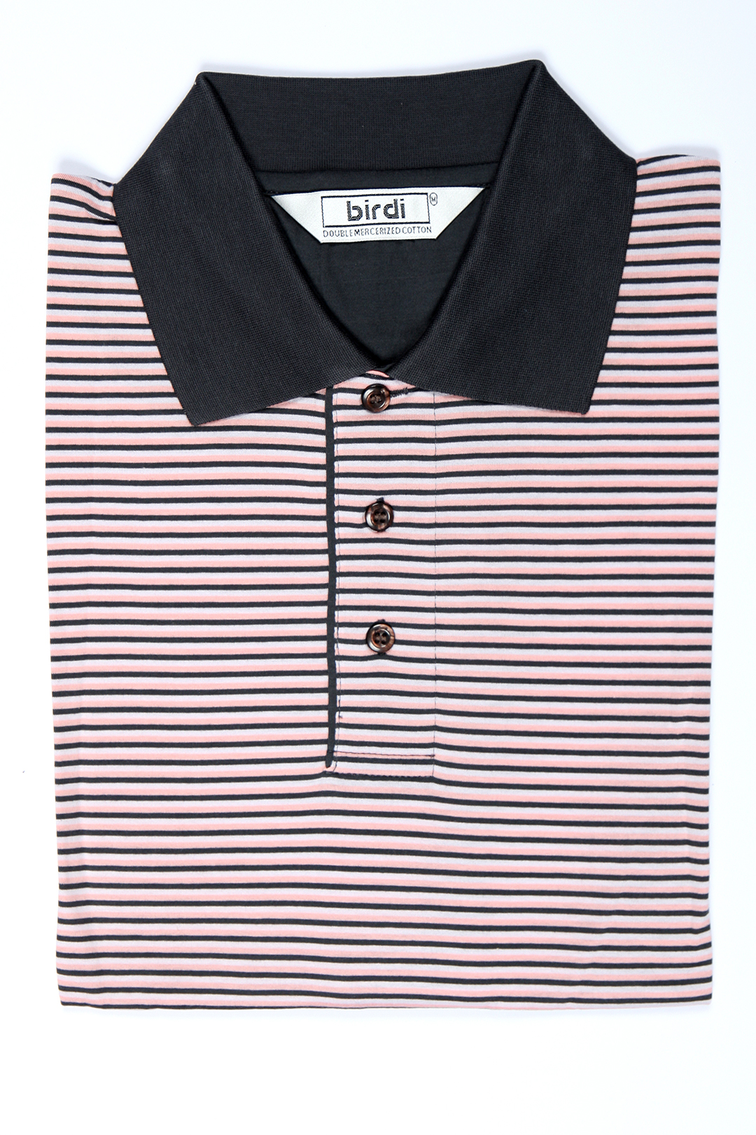 pink--black--white-stripe-men's-double-mercerized-golf-shirt