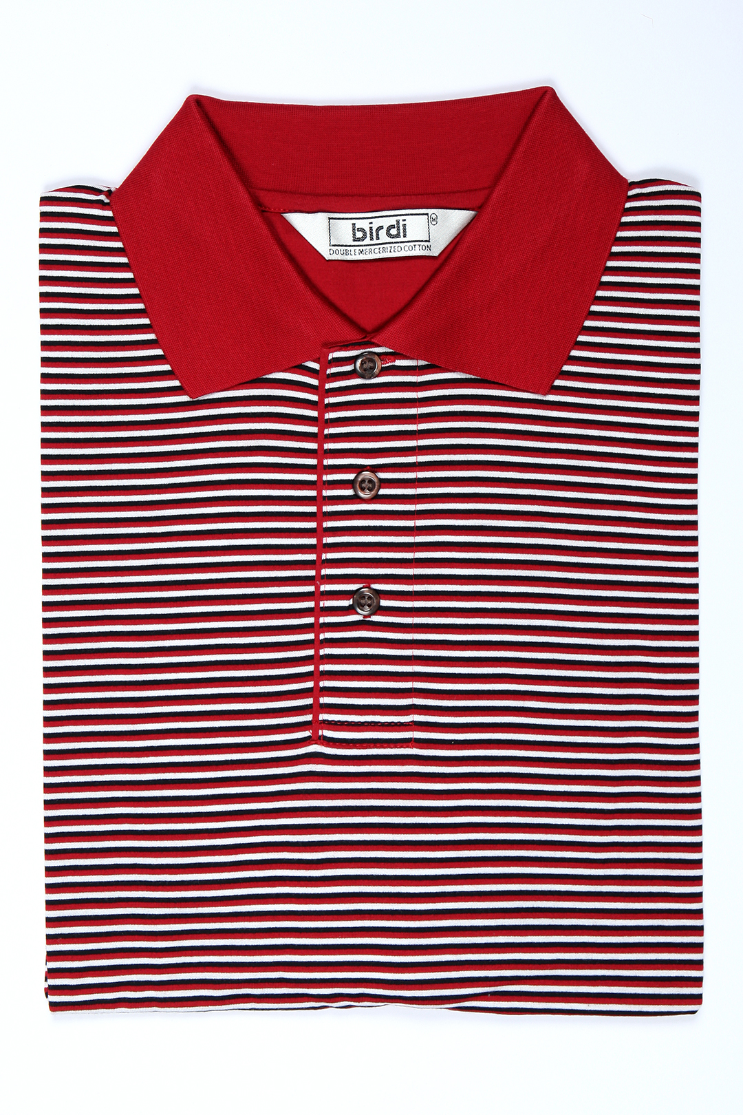 red--black--white-men's-double-mercerized-golf-shirt